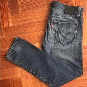 Vintage Levis 591 Jeans in Dark Wash 32 X 32
